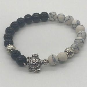 Jewelry - 🐢 Natural Stone Turtle Bracelet 🌴